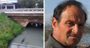 Jožef Vekonj kaže da je reka Krivaja pretvorena u otvorenu septičku jamu