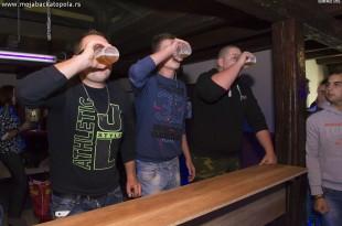 Takmicenje u ispijanju piva C|lub Rigo Bajsa