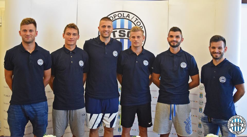 Bastajić, Varga, Filipović, Milisavljević, Plavšić, Pintér